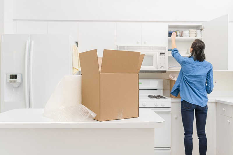 Packing and Moving to a New Home